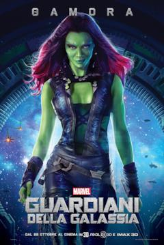 Il character poster di Gamora