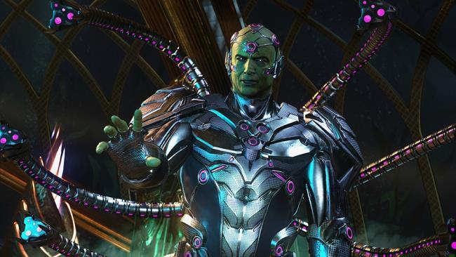 Brainiac in una scena tratta da Injustice 2