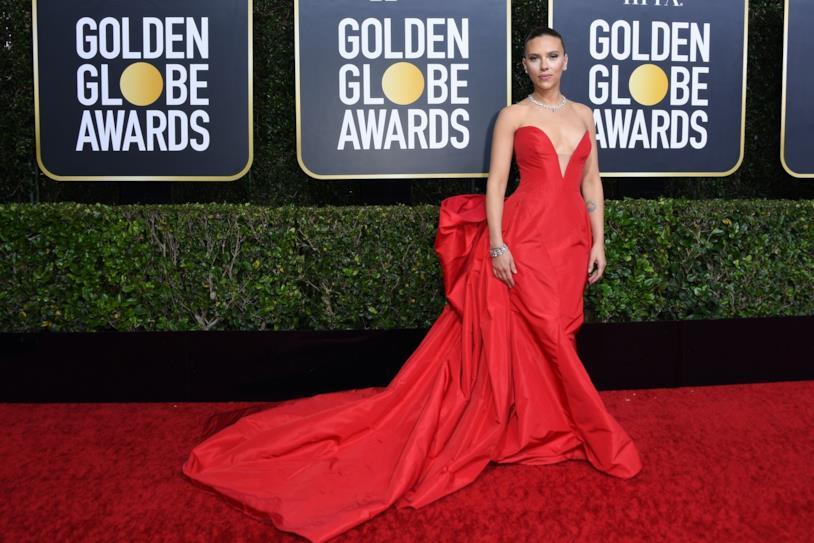 Scarlett Johansson ai Golden Globes