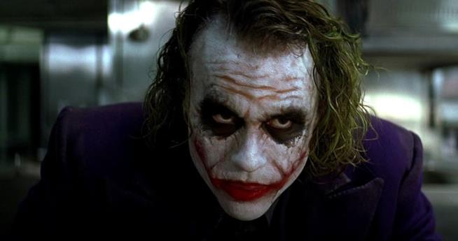 Heath Ledger è il Joker