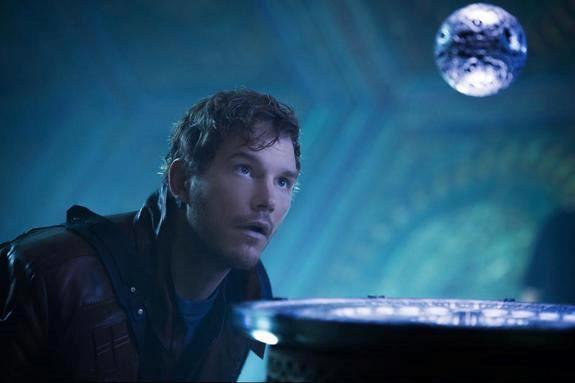 Chris Pratt nei panni di Chris Pratt in Guardiani della Galassia