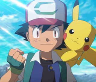 Ash e il suo Pikachu