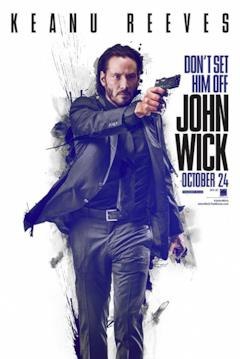John Wick, una locandina del film