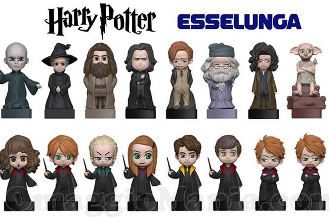 La collezione di figurine 3D all'insegna di Harry Potter