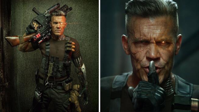 Josh Brolin nelle prime foto ufficiali di Deadpool 2