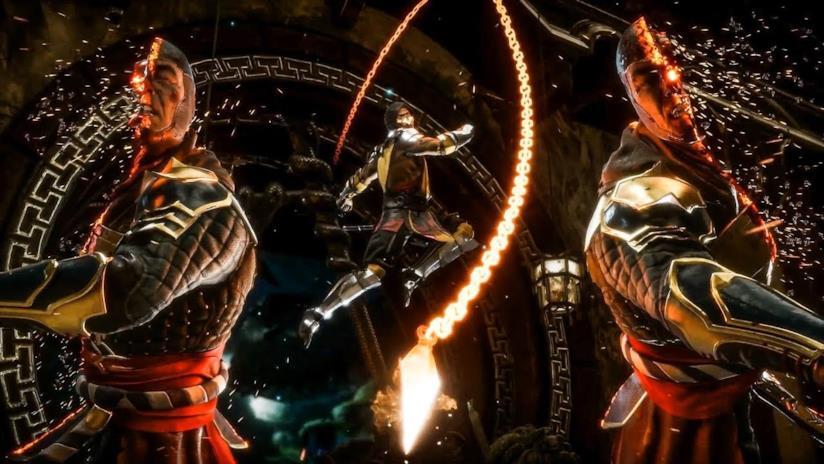 La Fatality di Scorpion in Mortal Kombat 11