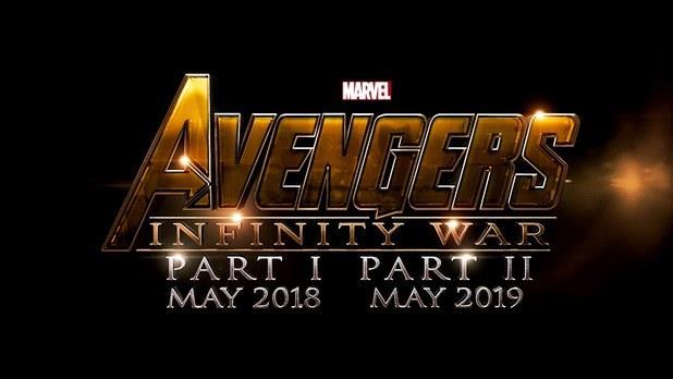 Locandina ufficiale di Avengers: Infinity War