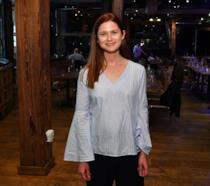 Bonnie Wright in posa