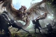 Monster Hunter World cover art