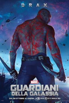 Il character poster di Drax