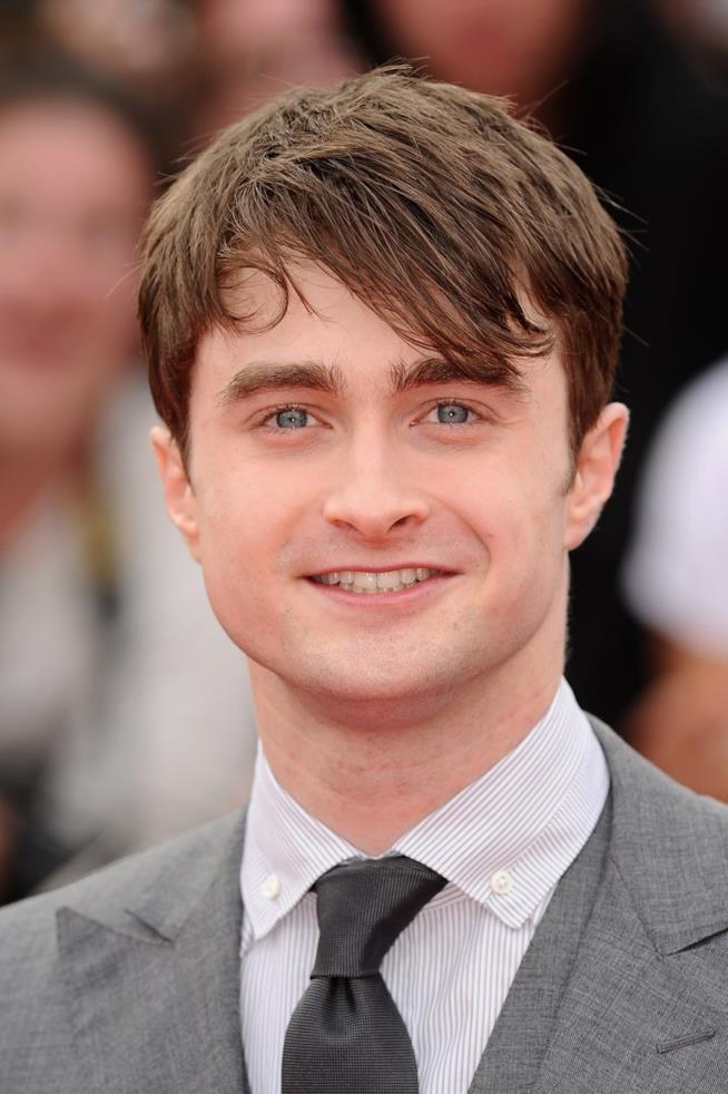 Uno scatto di Daniel Radcliffe risalente al periodo in cui interpretava Harry Potter