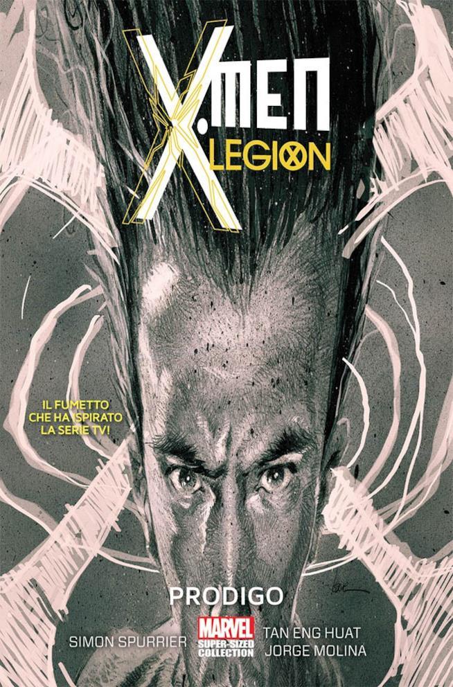 David Heller sulla copertina del primo volume di X-Men: Legion