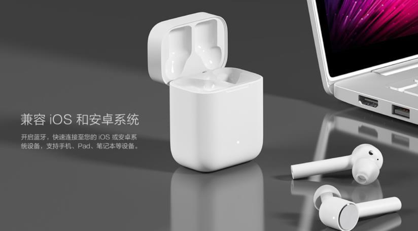 Immagine stampa degli AirDots Pod di Xiaomi