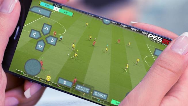 PES 2018 su smartphone