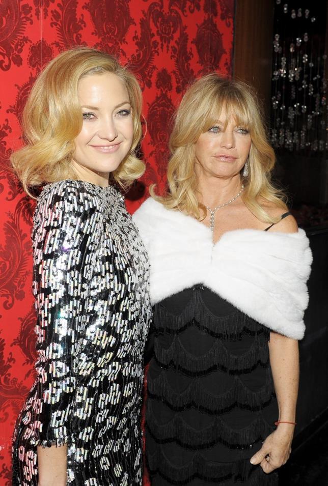 Kate Hudson con la madre Goldie Hawn