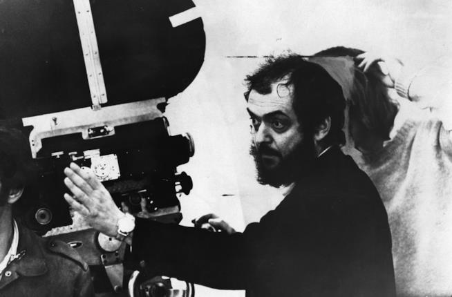 Il regista Stanley Kubrick