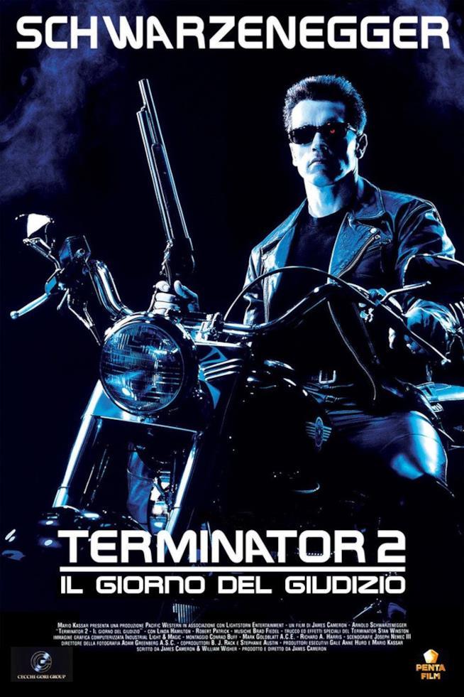 Arnold Schwarzenegger nel poster ufficiale del secondo capitolo della saga