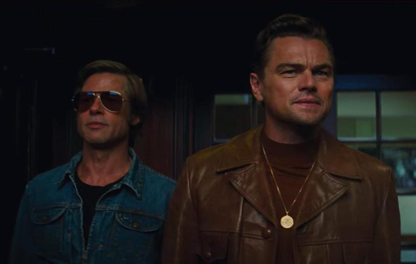 Una sequenza di C'era una volta a... Hollywood con Rick Dalton e Cliff Booth