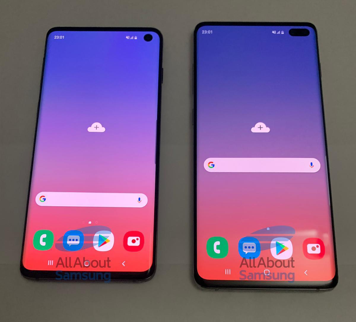 Foto leak dei Galaxy S10 ed S10+ di Samsung (1)