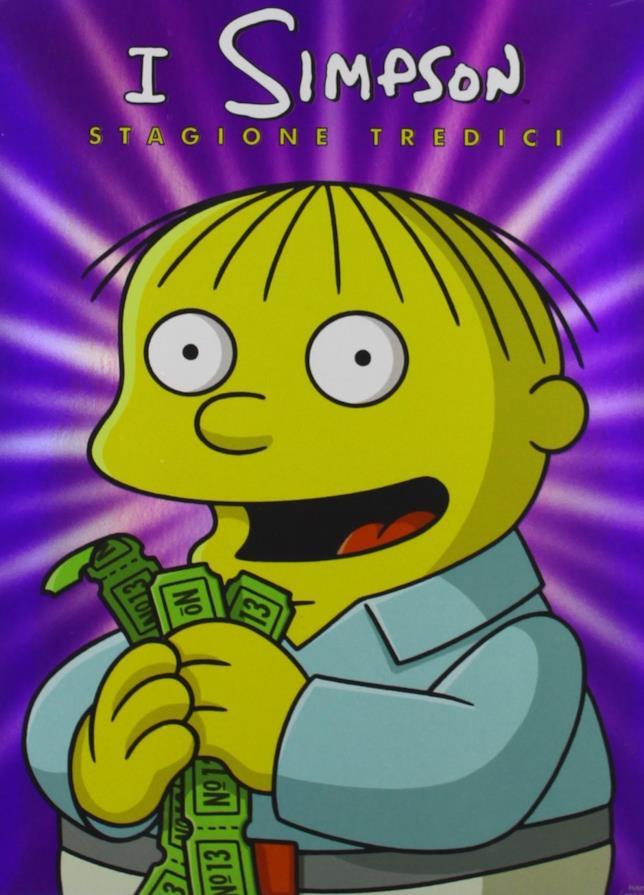 Il cofanetto della stagione 13 dei Simpson