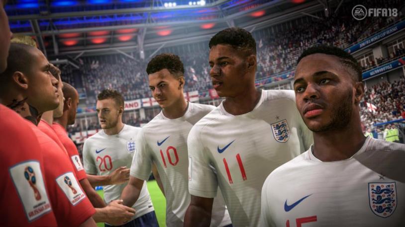 Belgio e Inghilterra in FIFA 18