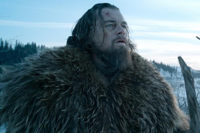 Leonardo DiCaprio in una scena di Revenant - Redivivo