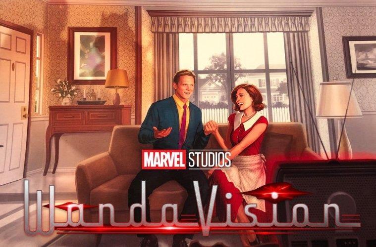 Il poster ufficiale della serie WandaVision, in arrivo su Disney+