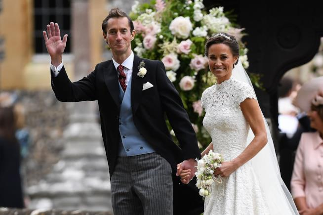 Pippa Middleton e James Matthews sposi