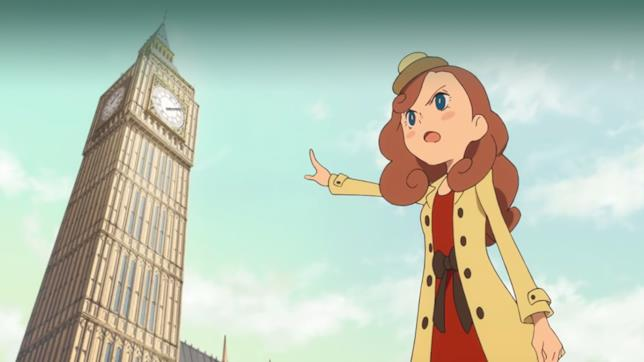 Kat è la figlia del Professor Layton