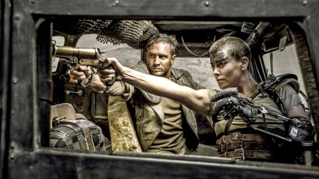 Charlize Theron è Furiosa in Mad Max Fury Road