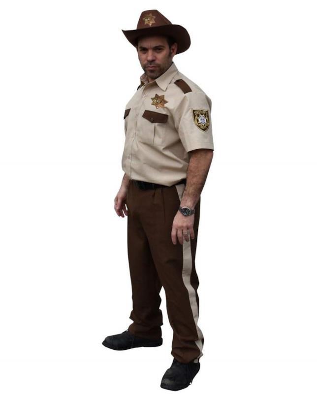 Il costume per diventare Rick Grimes