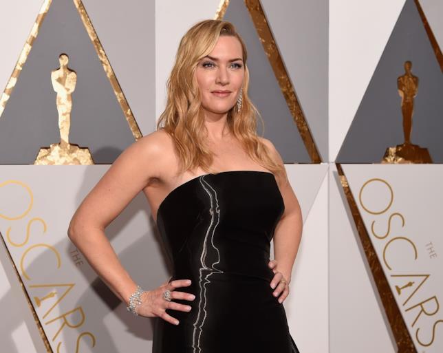 La splendida Kate Winslet agli Oscar