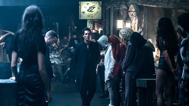 Una scena tratta dal film La Torre Nera