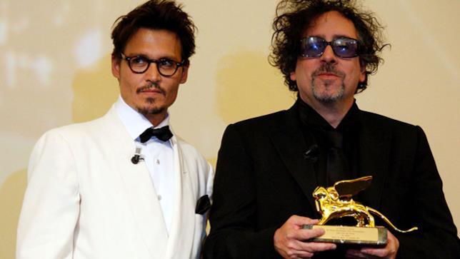 Tim Burton e Johnny Depp al Festival di Venezia