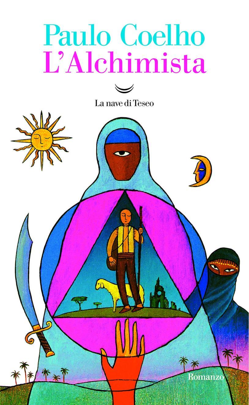 La copertina enigmatica dell'Alchimista