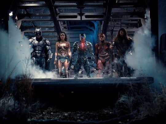La crew dei supereroi di Justice League