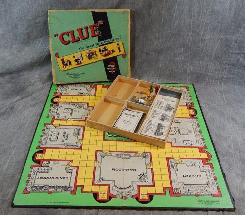 La prima versione americana di Cluedo