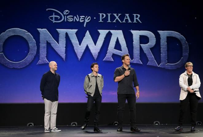 Tom Holland e Chris Pratt protagonisti di Onward
