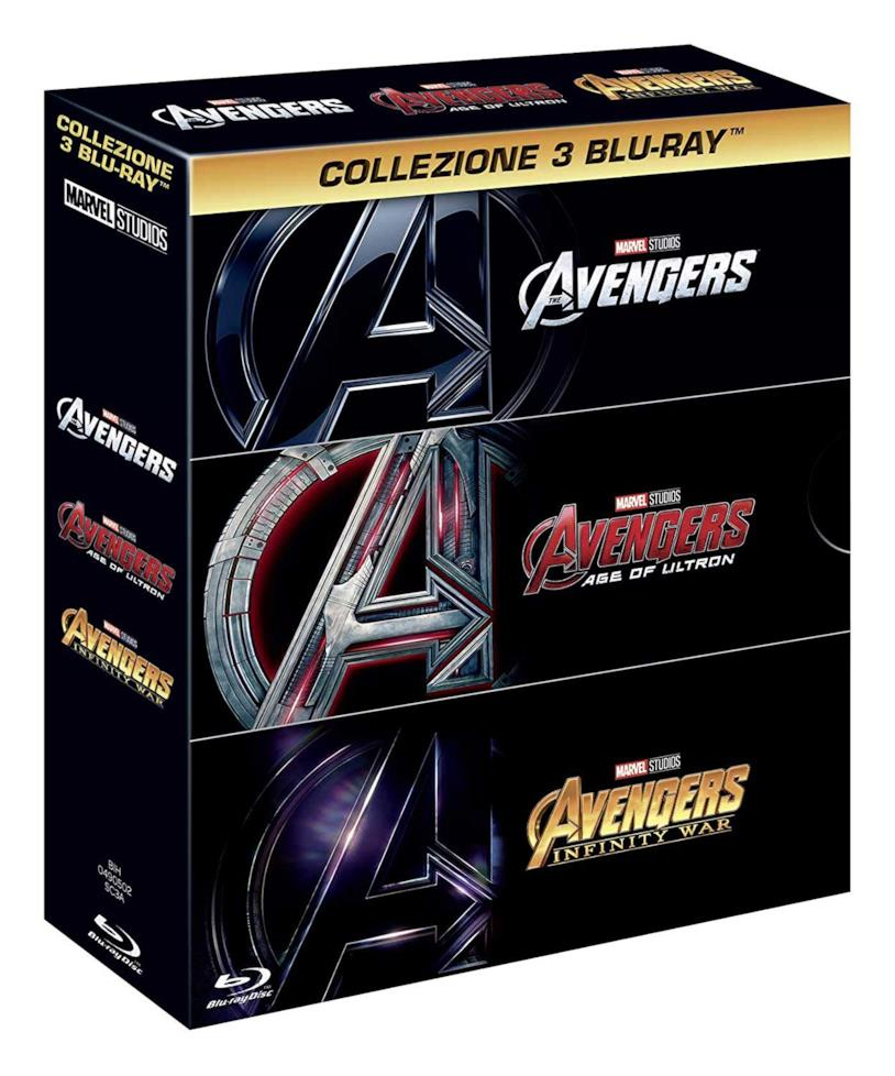 Avengers Trilogia - Home Video