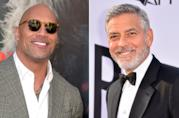 The Rock e George Clooney