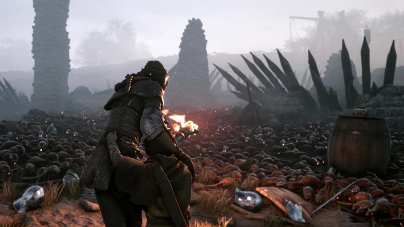 Uno screenshot di gioco da A Plague Tale: Innocence
