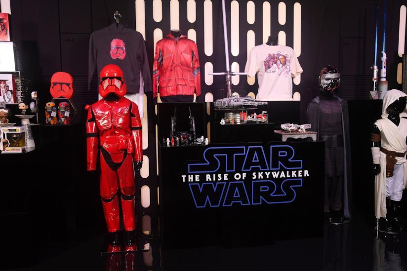 Showcase della nuova linea di prodotti Star Wars