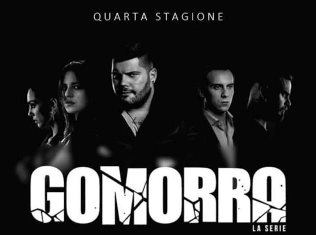 Un primo poster della quarta stagione di Gomorra