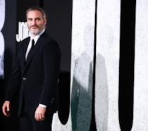Joaquin Phoenix alla premiere del film Joker