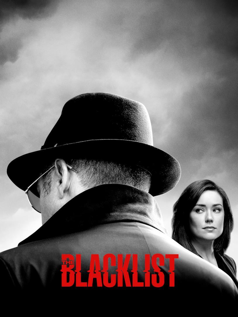La locandina della stagione 6 di the blacklist in onda su fox crime