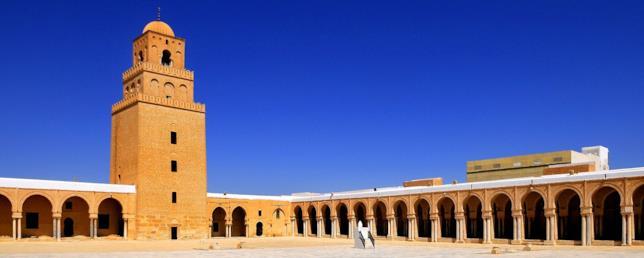 Uno scorcio di al-Qayrawan