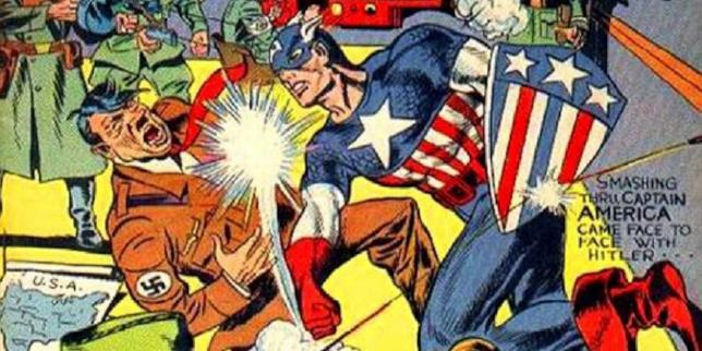 Capitan America sconfigge il Male