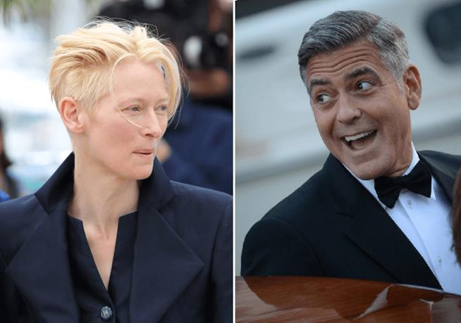 Tilda Swinton vs George Clooney