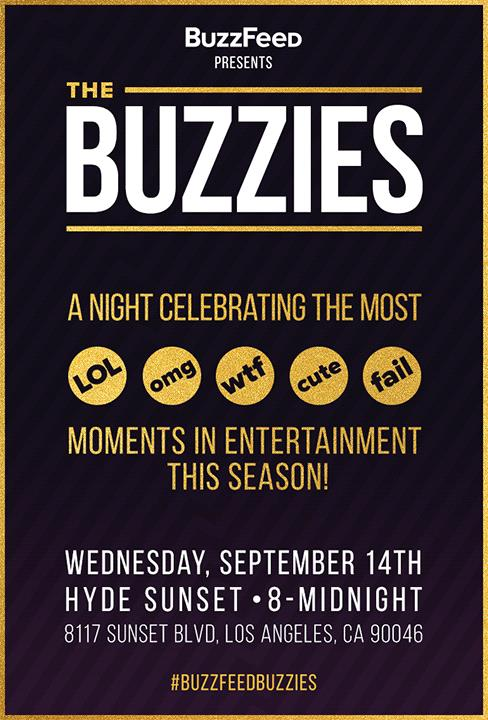 Nei giorni pre-Emmy, ecco la festa di BuzzFeed