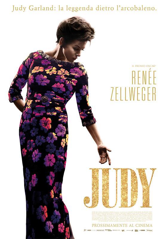 Renée Zellweger nel poster italiano di Judy